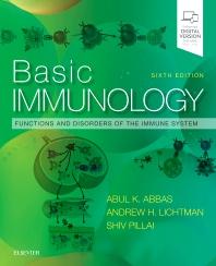 Basic Immunology 6th Ed.**Elsevier/Abul K. Abbas/9780323549431**