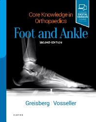 Core Knowledge in Orthopaedics Foot and Ankle 2nd Ed.**Elsevier/Justin K.Greisberg/9780323568388**