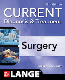 Current Diagnosis & Treatment: Surgery 15th Ed.**McGraw-Hill/Gerard M.Doherty/9781260122213**