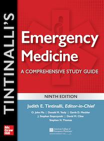 Tintinalli's Emergency Medicine A Comprehensive Study Guide 9th Ed.**McGraw-Hill/9781260019933**