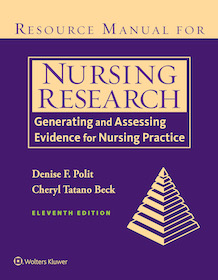 Resource Manual for Nursing Research,11th Ed.**9781975112264/Wolters Kl/Denise F.P/9781975112264**