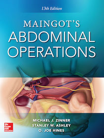 Maingot's Abdominal Operations  13th Ed.**9780071843072/McGraw-Hil/Michael J./9780071843072**
