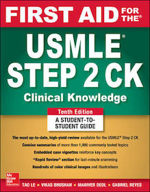 First Aid for the USMLE Step 2 CK**McGraw-Hill/Tao Le/9781260440294**
