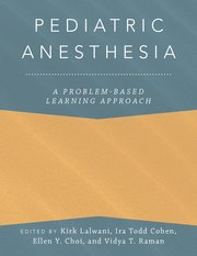 Pediatric Anesthesia**Oxford University Press/Kirk Lalwani/9780190685157**