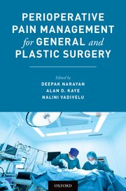 Perioperative Pain Management for General and Plastic Surgery**Oxford/Deepak Narayan/9780190457006**