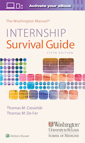 Washington Manual: Internship Survival Guide  5th Ed.**9781975113285/Wolters Kl/Thomas M.C/9781975**