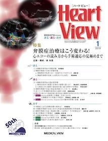 Heart View 2019年1月 弁膜症治療はこう変わる!**4910175410190/メジカルビュー社/**
