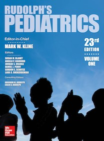 Rudolph's Pediatrics 23rd Ed.**McGraw-Hill/Colin D.Rudolph/9781259588594**