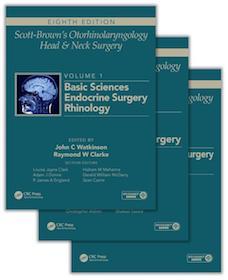 Scott-Brown's Otorhinolaryngology Head & Neck Surgery 8th Ed.**CRC Press/Watkinson/9781444175899**
