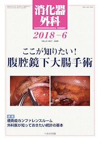 消化器外科 2018年6月 ここが知りたい!腹腔鏡下大腸手術**4910045530683/へるす出版/**