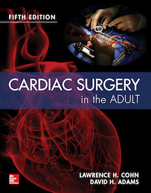 Cardiac Surgery in the Adult  5th Ed.**9780071844871/McGraw-Hil/Lawrence H/978-0-07-184487-1**