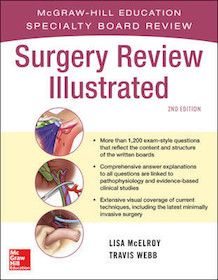Surgery Review Illustrated 2nd Ed.**McGraw-Hill/Lisa M.McElroy/9780071663298**