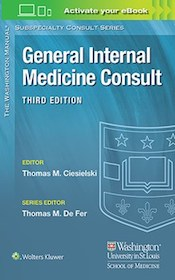 General Internal Medicine Consult**9781496346322/Wolters Kl/Thomas M.C/9781496346322**