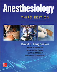 Anesthesiology 3rd Ed.**McGraw-Hill/David E.Longnecker/9780071848817**