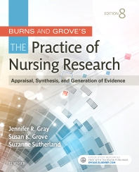 Burns and Grove's The Practice of Nursing Research 8th Ed.**Elsevier/Gray/9780323377584**