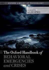 Oxford Handbook of Behavioral Emergencies and Crises**Oxford/Phillip M.Kleespies/9780199352722**