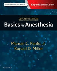 Basics of Anesthesia 7th Ed.**Elsevier/Manuel C.Pardo  Jr./9780323401159**