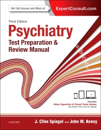 Psychiatry: Test Preparation & Review Manual**Elsevier/J.Clive Spiegel/9780323396158**