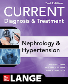 Current Diagnosis & Treatment Nephrology & Hypertension**McGraw-Hill/Edgar V.Lerma/9781259861055**