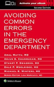 Avoiding Common Errors in the Emergency Department 2nd Ed.**Wolters Kluwer/Mattu/9781496320742**