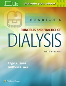 Henrich's Principles and Practice of Dialysis**9781496318206/Wolters Kl/Edgar V.Le/9781496318206**