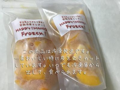 宮古島産完熟冷凍キューブマンゴー1袋160g入り10袋(冷凍発送)