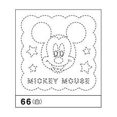 花ふきん布パック ミッキーマウス