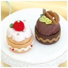 PA-726 いちごのケーキとチョコケーキ