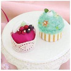 PA-727 ベリーのムースケーキとミントのカップケーキ