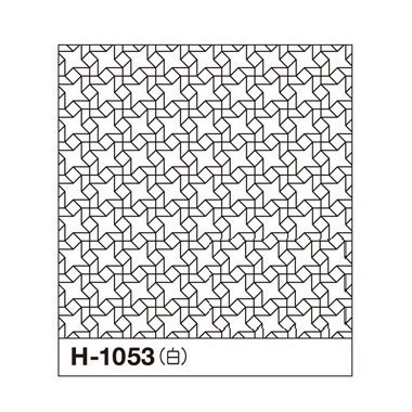オリムパス 一目刺しの花ふきん布パック 風車 白 H-1053