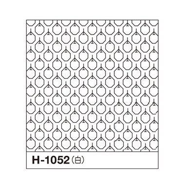 オリムパス 一目刺しの花ふきん布パック りんご 白 H-1052