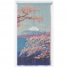T368 富士と桜 スキルタペストリー