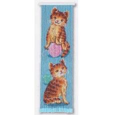 T369 子猫と毛糸 スキルタペストリー