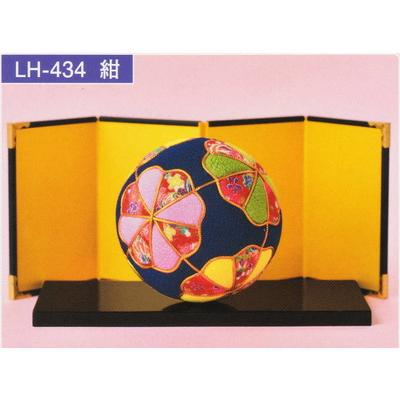 きめこみてまり 紺 LH-434