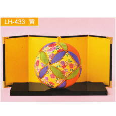 LH-433 きめこみてまり 黄
