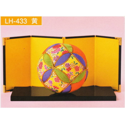 きめこみてまり 黄 LH-433