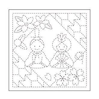 オリムパス 花ふきん布パック お雛まつり 白 H-1055