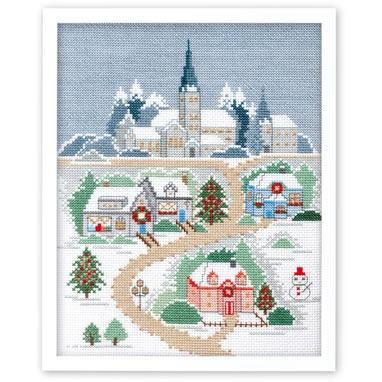 クリスマスの夜 刺繍キット No.7401