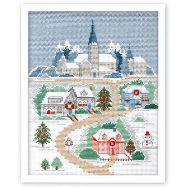No.7401 オリムパス 刺繍キット メモリーオブシーズンズ クリスマスの夜