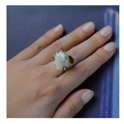 MT-3 オリムパス 組紐×ビーズ刺しゅうで作る Ring