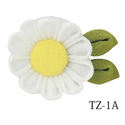 TZ-1A オリムパス つまみ細工キット マーガレットのブローチ