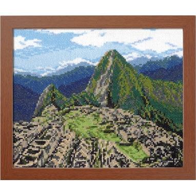 No.7438 オリムパス 刺繍キット ワールドセレクション マチュピチュ遺跡 ペルー