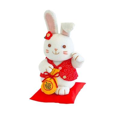 招きウサギ パッチワークキット PA-544