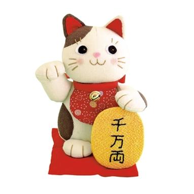 福々招き猫 パッチワークキット PA-565