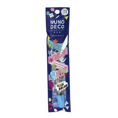 15-326 KAWAGUCHI ヌノデコペン 蛍光ブルー