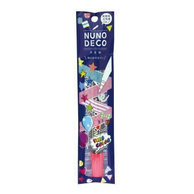 15-328 KAWAGUCHI ヌノデコペン 蛍光ピンク