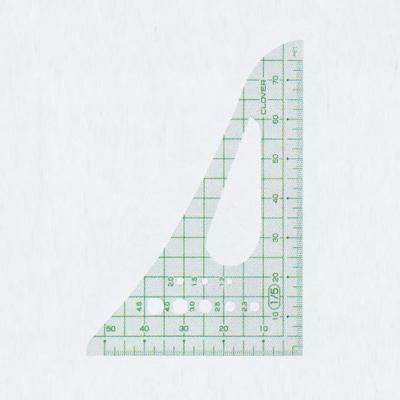 25-016 クロバー 方眼三角縮尺 1/5