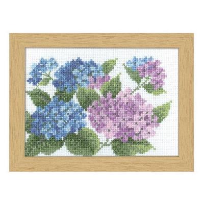 No.7512 オリムパス 刺繍キット 12ヶ月の花フレーム 6月 アジサイ
