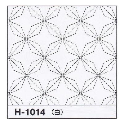 H-1014 オリムパス 花ふきん布パック 花菱 (白)