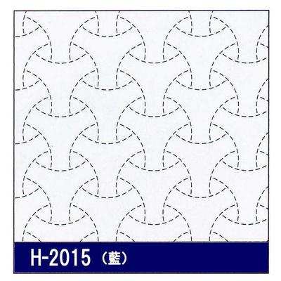 H-2015 オリムパス 花ふきん布パック 丸毘沙門 (藍)